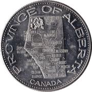 Token - Souvenir of Alberta – reverse