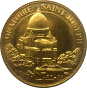 Token - Arthus Bertrand (Oratoire Saint-Joseph - Saint frere André) – reverse