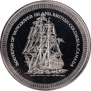 Token - Vancouver Island (Discovery) – obverse