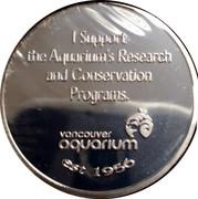 Token - Vancouver Aquarium Beluga Whales – reverse