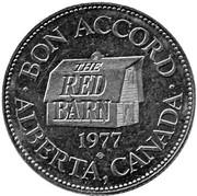 Token - Red Barn (Alberta) – obverse