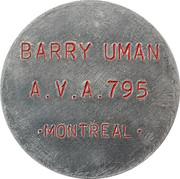 Token - Barry Uman (Montreal) – obverse