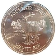 Souvenir Coin - Wapiti Elk – reverse