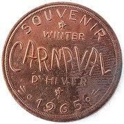 Token - Winter Carnival (Chibougamau, Quebec) – obverse