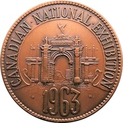 Medal - Canadian National Exhibition 1963 – obverse