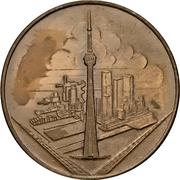 Medal - CN tower (Toronto, Ontario) – obverse