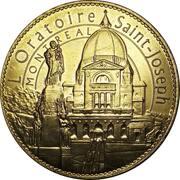 Token - Montreal (L'Oratoire Saint-Joseph) – reverse