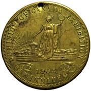 Medal - Dominion of Canada Exhibition (Winnipeg) – obverse