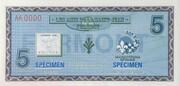 5 Dollars (Fermont, Quebec) – obverse