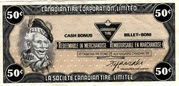 50 Cents - Canadian Tire Coupon – obverse