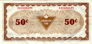 50 Cents - Canadian Tire Coupon – reverse
