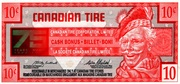 10 Cents - Canadian Tire Coupon (75th Anniversary) – obverse