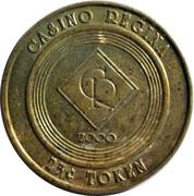 25 Cents Token - Casino Regina – obverse