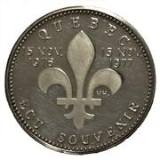 Ecu Souvenir - Québec (René Levesque) – reverse
