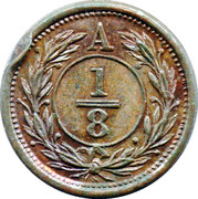 ⅛ Penny (Anticosti Islands) – reverse
