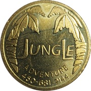 Game Token - Jungle Adventure (Laval, Quebec) – obverse