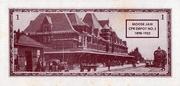 1 Dollar - Centenary of Moose Jaw, Saskatchewan – reverse