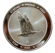 1 oz Silver (150 Years Maple Leaf) – reverse