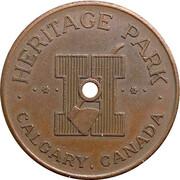 1 Adult Fare - Heritage Park (Calgary, Alberta) – obverse