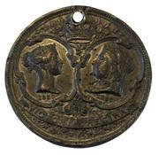 Medallion - Victoria (Golden Jubilee) – obverse