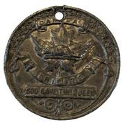 Medallion - Victoria (Golden Jubilee) – reverse