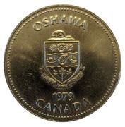 Token - City of Oshawa (1903 Oldsmobile) – obverse