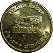 Game Token - Cineplex -  obverse