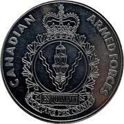 Medal - Canadian Armed Forces Esquimalt (Maritime Forces Pacific) – reverse