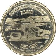 1 dollar - Pinchbeck-Borland Ranch - City of Williams Lake Trade Dollar – obverse