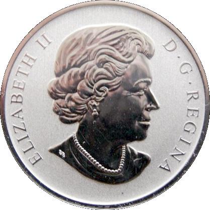 $0.50 2007 Canadian Specimen 50 Cent