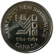 1 dollar - Saint John Loyalist Days – obverse