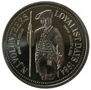 1 dollar - Saint John Loyalist Days – reverse