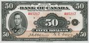 50 Dollars (English) – obverse