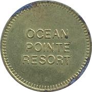 Parking Token - Ocean Pointe Resort (Victoria, British Columbia) – obverse