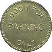 Parking Token - Ocean Pointe Resort (Victoria, British Columbia) – reverse
