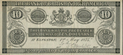 10 Dollars (Bank of British North America) – obverse