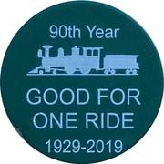 1 Ride - Burnaby Central Railway (Burnaby, British Columbia) – reverse