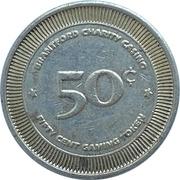 50 Cents - Brantford Charity Casino (Brantford Ontario, Canada) – reverse