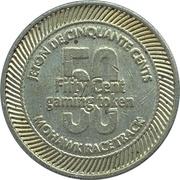 50 Cents - Mohawk Racetrack (Campbellville, Ontario) – reverse