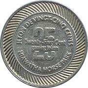 25 Cents - Hiawatha Horse Park (Sarnia, Ontario) – reverse
