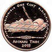 1 Cent (Abenaki tribes) – obverse