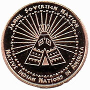 1 Cent (Abenaki tribes) – reverse