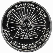 5 Cents (Abenaki tribes) – reverse