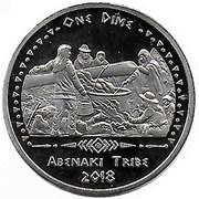 1 Dime (Abenaki tribes) – obverse