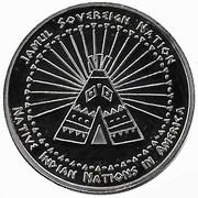 1 Dime (Abenaki tribes) – reverse