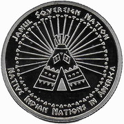 Quarter Dollar (Abenaki tribes) – reverse
