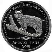 Half Dollar (Abenaki tribes) – obverse