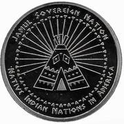 Half Dollar (Abenaki tribes) – reverse