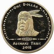 1 Dollar (Abenaki tribes) – obverse
