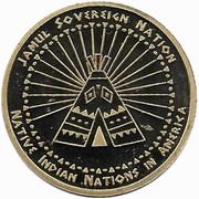 1 Dollar (Abenaki tribes) – reverse